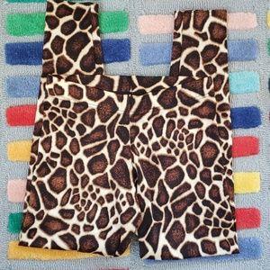 Black Milk Clothing Baby Giraffe Leggings Medium M
